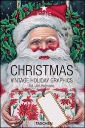 Christmas. Vintage Holiday Graphics. Ediz. italiana, spagnola e portoghese