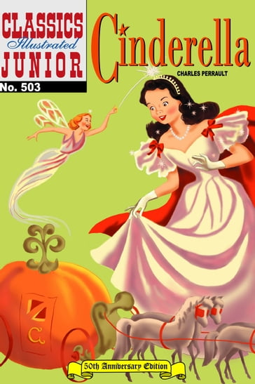 Cinderella - Classics Illustrated Junior #503