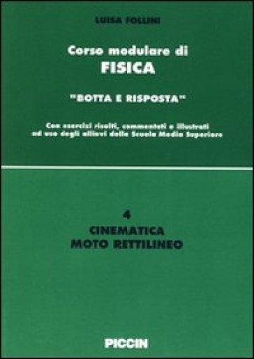 Cinematica. Moto relativo - Luisa Follini |