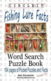 Circle It, Fishing Lure Facts, Word Search, Puzzle Book