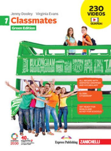 Classmates. Corso di inglese per la scuola secondaria di primo grado. Green edition. Per la Scuola media. Con e-book. Con espansione online. 1. - Jenny Dooley | Kritjur.org