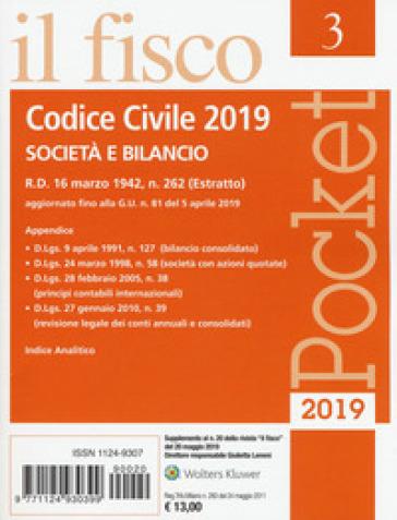 Codice civile. Società e bilancio