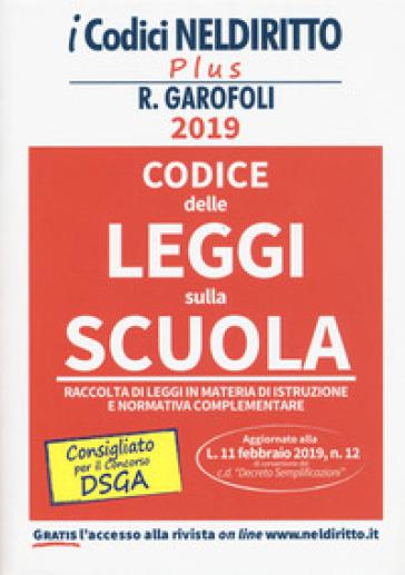 Codice delle leggi sulla scuola - Federica Gaia Corbetta   Thecosgala.com
