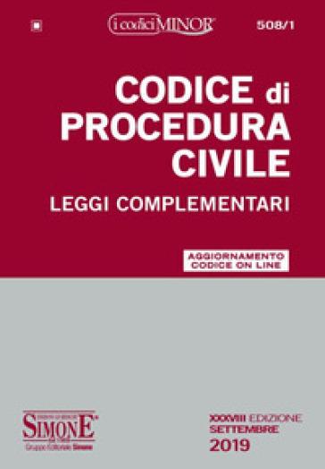 Codice di procedura civile e leggi complementari. Con Contenuto digitale per accesso on line