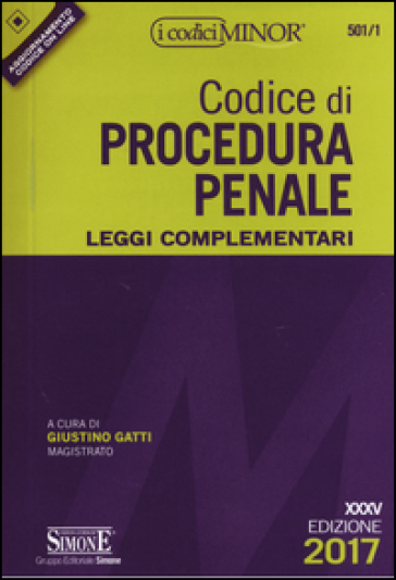 Codice di procedura penale. Leggi complementari. Ediz. minor. Con Contenuto digitale per download e accesso on line