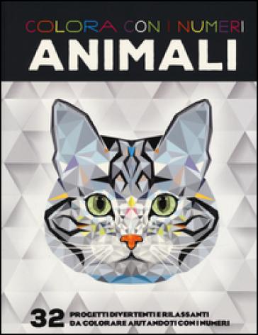Colora Con I Numeri Animali Libro Mondadori Store