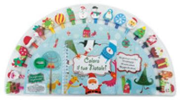 Colora il tuo Natale! Ediz. a colori. Ediz. a spirale. Con gadget - Kate Ashforth   Thecosgala.com