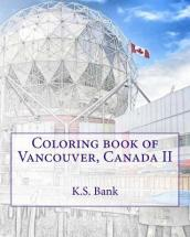 Coloring Book of Vancouver, Canada II