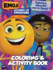 Image of Coloring & activity book. Accendi le emozioni. Emoji . Ediz. a colori