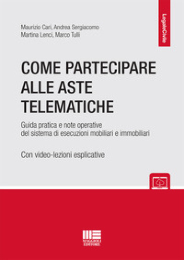 Come partecipare alle aste telematiche - Maurizio Cari pdf epub