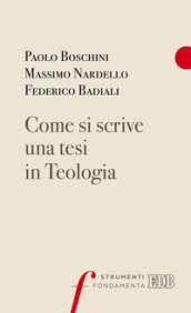 Come si scrive una tesi in Teologia