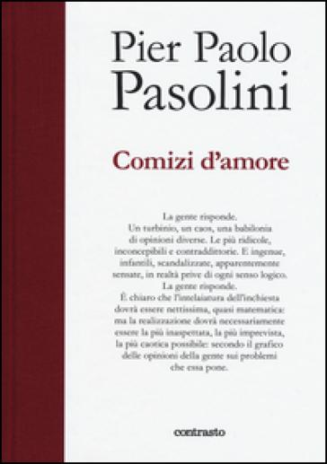 Comizi d'amore - Pier Paolo Pasolini |