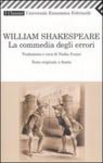 Commedia degli errori. Testo inglese a fronte (La) - William Shakespeare | Thecosgala.com