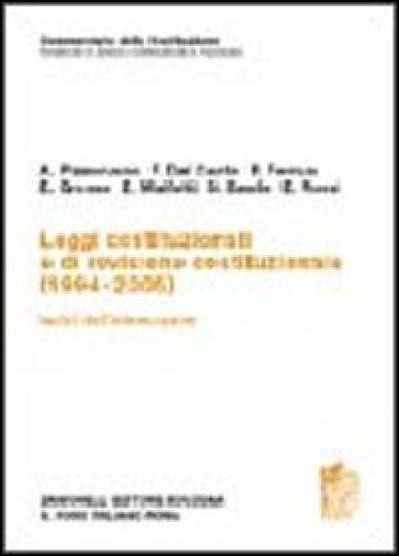 Commentario della Costituzione. Leggi costituzionali e di revisione costituzionale (1994-2005) -  pdf epub