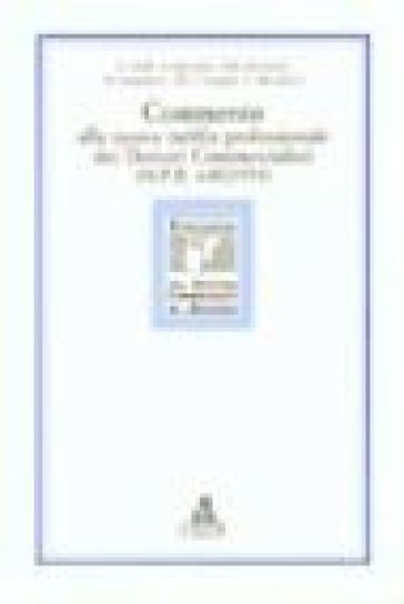 Commento alla nuova tariffa professionale dei dottori commercialisti (DPR 645/1994)