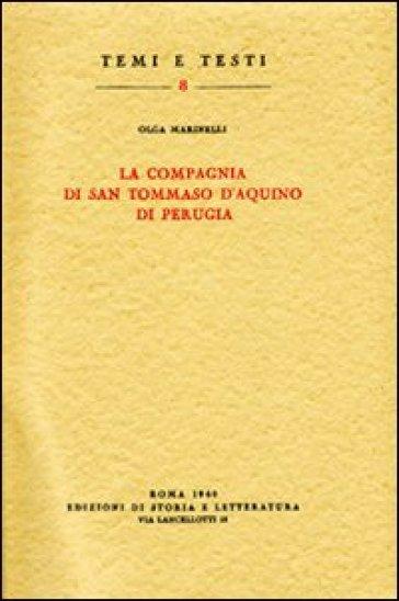 La Compagnia di san Tommaso d'Aquino di Perugia - Olga Marinelli | Kritjur.org