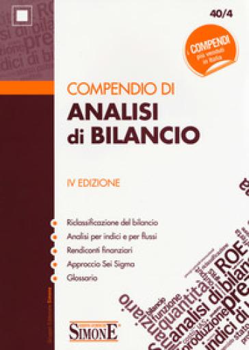 Compendio di analisi di bilancio - A. Battagli | Thecosgala.com