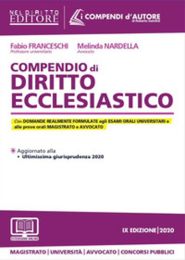 Compendio di diritto ecclesiastico - Fabio Franceschi |