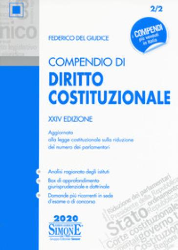 Compendio di diritto costituzionale - Federico Del Giudice | Thecosgala.com