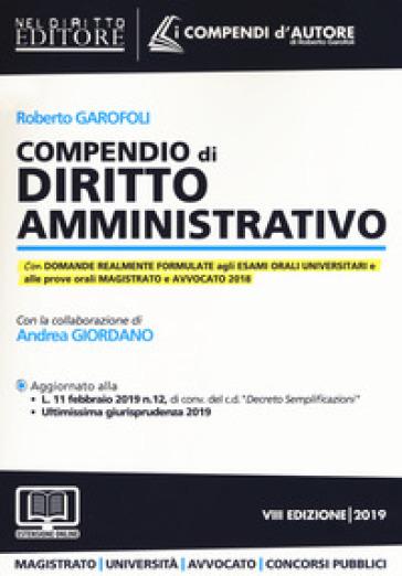 Compendio di diritto amministrativo. Con espansione online - Roberto Garofoli |