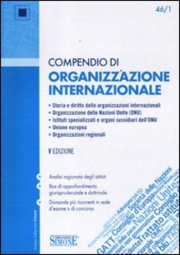 Compendio di organizzazione internazionale