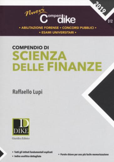 Compendio di scienza delle finanze - Raffaello Lupi |