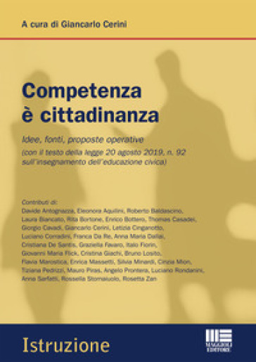 Competenza è cittadinanza - G. Cerini  
