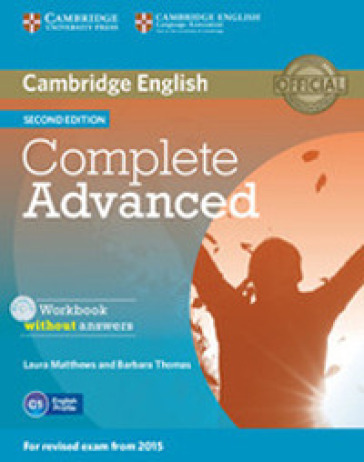 Complete CAE. Workbook without answers. Per le Scuole superiori. Con CD Audio. Con espansione online - Guy Brook-Hart  