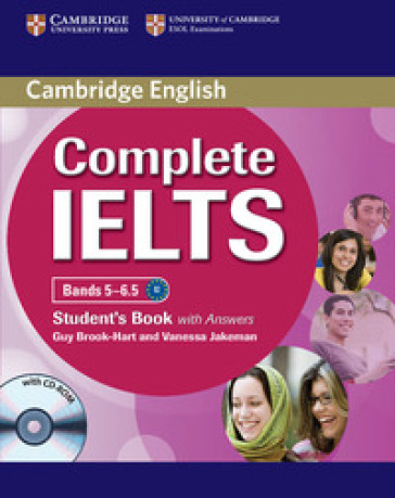 Complete IELTS. Student's pack (Student's book with answers with CD-ROM and Class Audio CDs (2)) - Guy Brook Hart |
