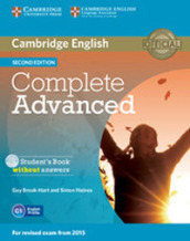 Complete advanced for schools. Student