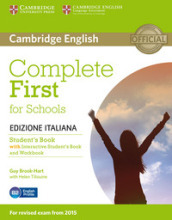 Complete first for schools. Student