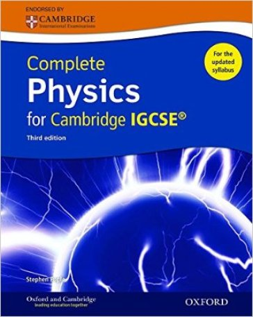 Complete physics for Cambridge IGCSE. Student book. Con espansione online. Per le Scuole superiori