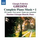 Complete piano music 1