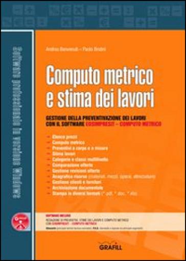 Computo metrico e stima dei lavori con cd rom andrea - Computo metrico per realizzazione di un bagno ...