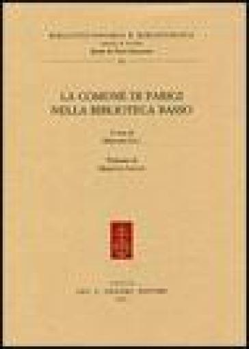 La Comune di Parigi nella biblioteca Basso - M. Sala  