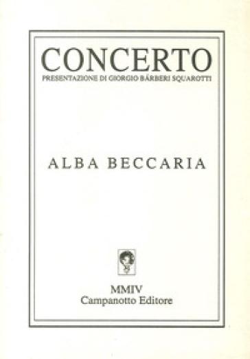 Concerto - Alba Beccaria  