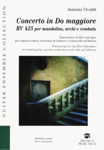 Concerto in Do maggiore RV425 per mandolino, archi e cembalo - Antonio Vivaldi |