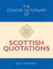 Concise Dictionary of Scottish Quotations