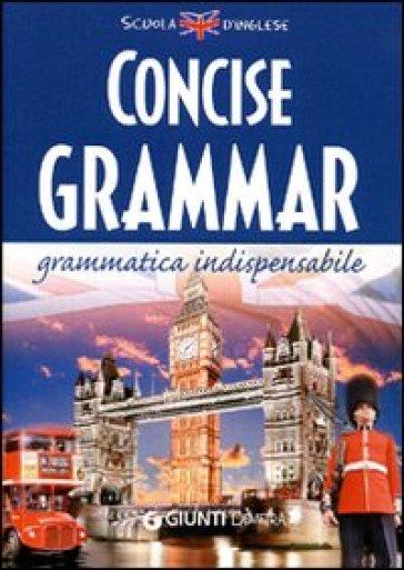 Concise grammar - Nuala Tansey |