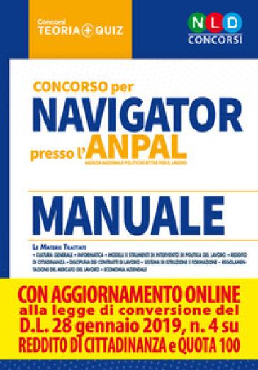 Concorso per Navigator presso l'ANPAL. Manuale. Con simulatore online