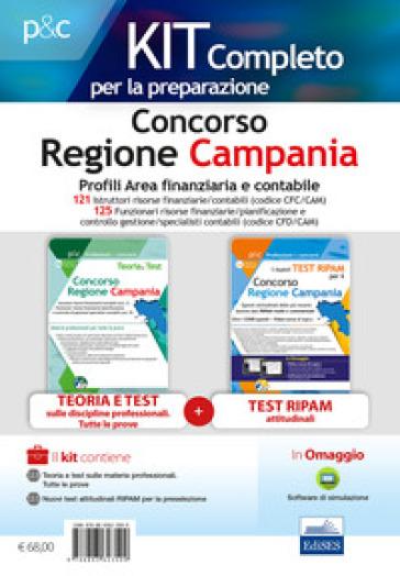 Concorso Regione Campania. Kit profili area finanziaria contabile. Con software di simulazione - Carla Iodice | Thecosgala.com