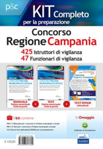 Concorso Regione Campania. Kit completo per la preparazione. 425 Istruttori di vigilanza (VGC/CAM). 47 Funzionari di vigilanza (VGC/CAM). Con software di simulazione - Carla Iodice pdf epub