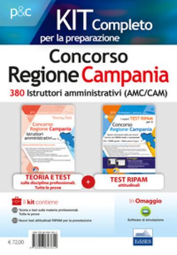 Concorso Regione Campania. Kit istruttore amministrativo. Teoria, test e simulazioni per la preparazione a tutte le prove. Con software di simulazione - Carla Iodice |