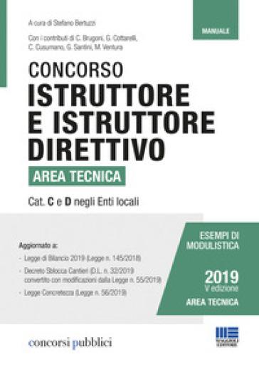 Concorso istruttore e istruttore direttivo area tecnica - S. Bertuzzi |