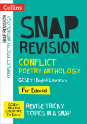 Conflict Poetry Anthology: New GCSE Grade 9-1 Edexcel English Literature