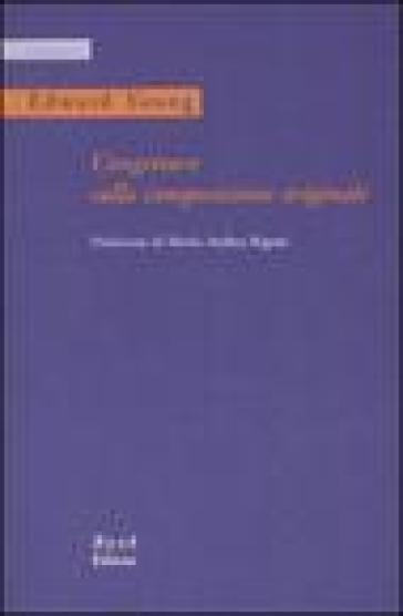 Congetture sulla composizione originale. Testo inglese a fronte - Edward Young   Kritjur.org