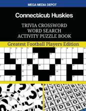 Connecticut Huskies Trivia Crossword Word Search Activity Puzzle Book