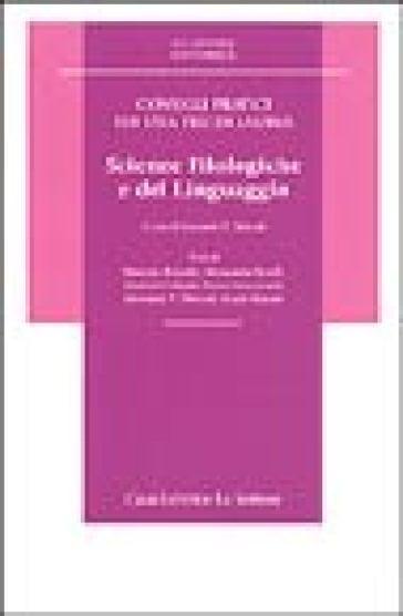 Consigli pratici per una tesi di laurea in scienze filologiche e del linguaggio - G. V. Moscati |
