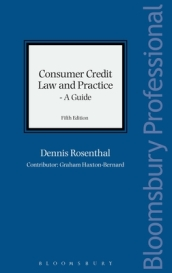 Consumer Credit Law and Practice - A Guide