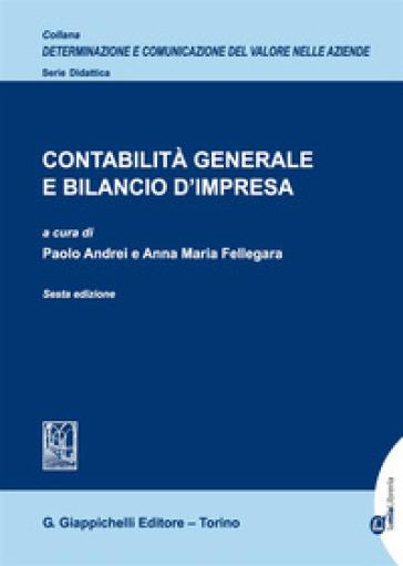 Contabilità generale e bilancio d'impresa - P. Andrei | Thecosgala.com
